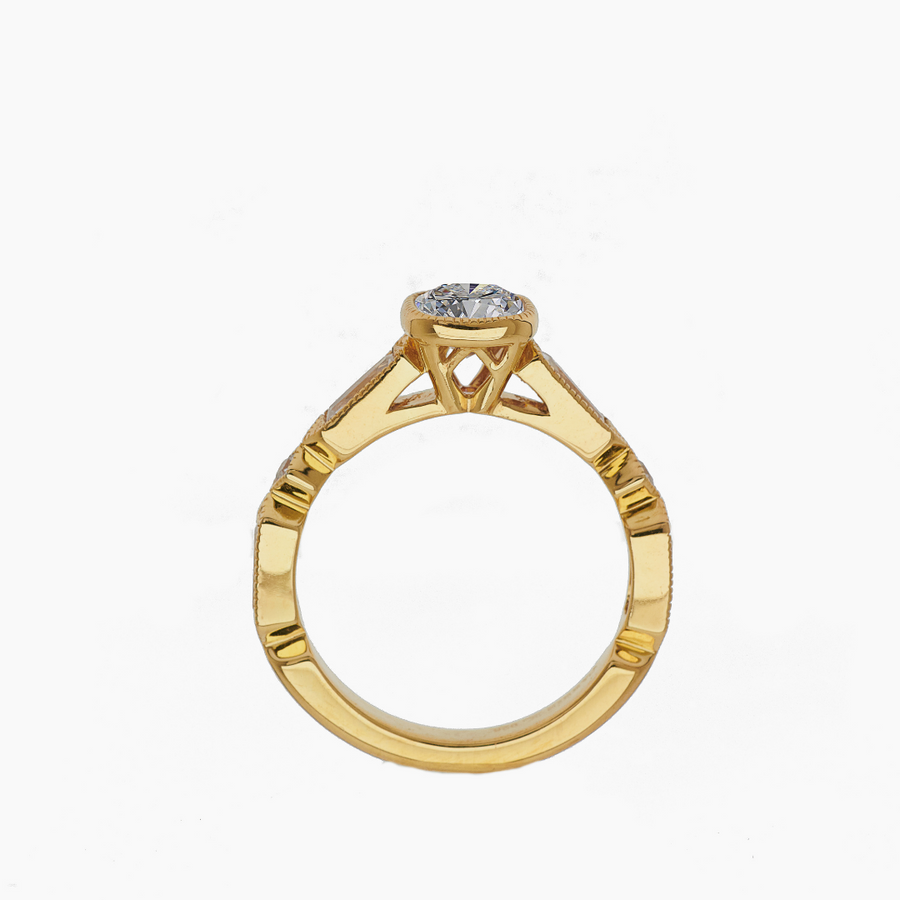 Sirius Solitaire Ring - Carrie K.