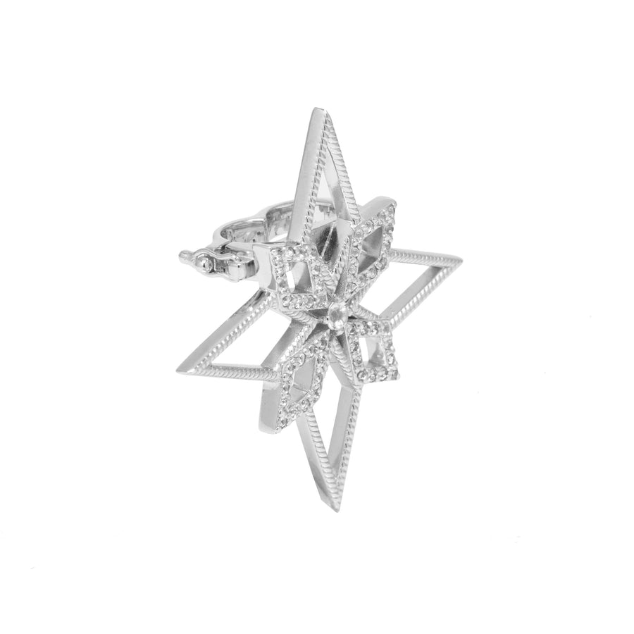 Star Pearl Clip (9K Gold) - Carrie K.