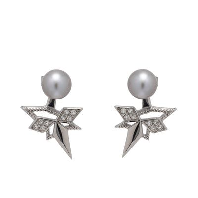 Pearl Star Ear Jacket Set - Carrie K.