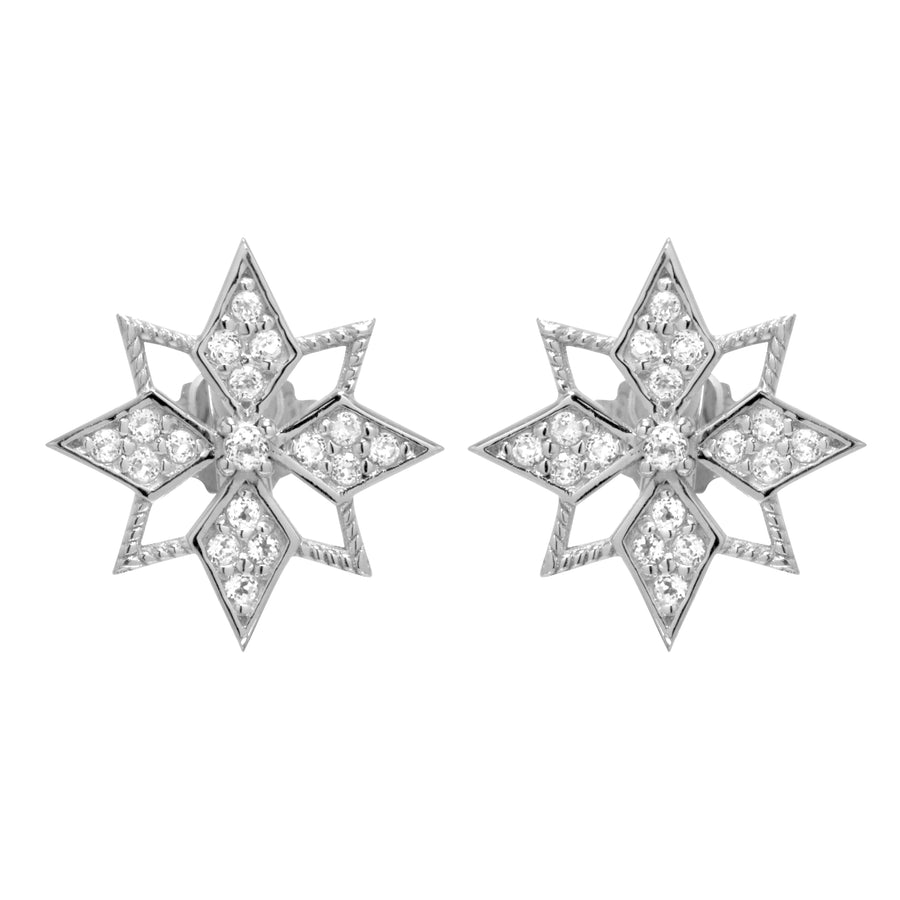 Star Studs (9K Gold) - Carrie K.