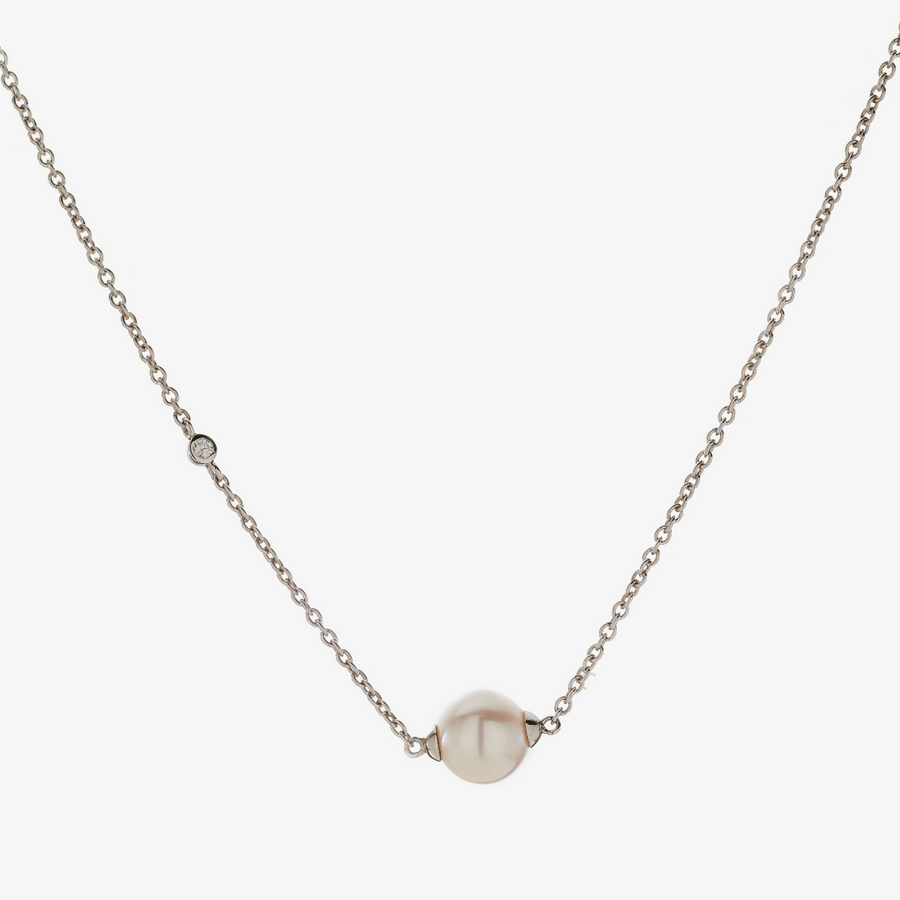 Trilliant Pearl Necklace