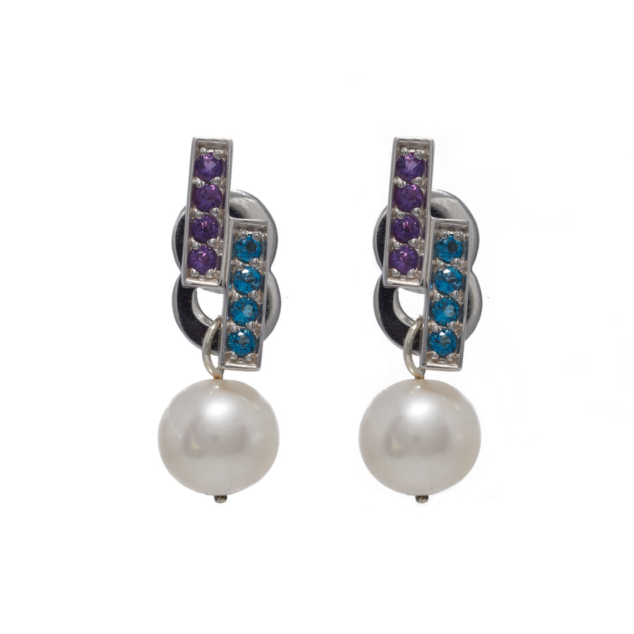 Heritage Pearl Ear Jackets - Carrie K.