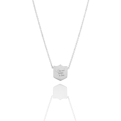 Medal Necklace - Carrie K.