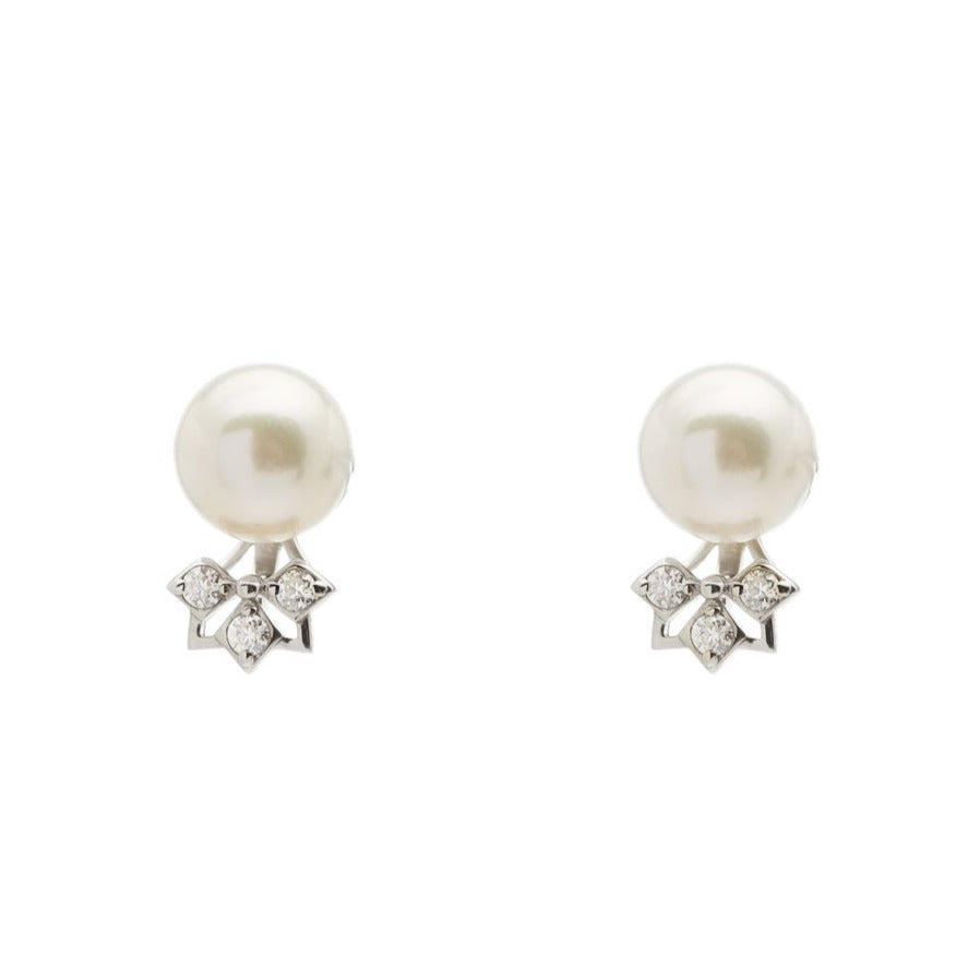 Star Pearl Mini Ear Jacket (9K Gold)
