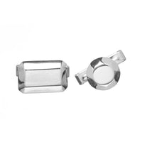 Gem Cut Cufflinks - Carrie K.