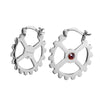 Heavy Mettle Hoop Earrings - Carrie K.
