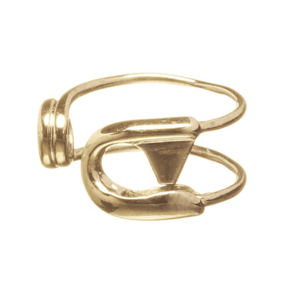 Reborn Safety Pin Ring - Carrie K.