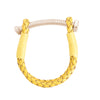Nut & Bolt Mustard Leather Bolo Bracelet - Carrie K.