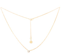Star Solitaire Necklace (9K Gold) - Carrie K.
