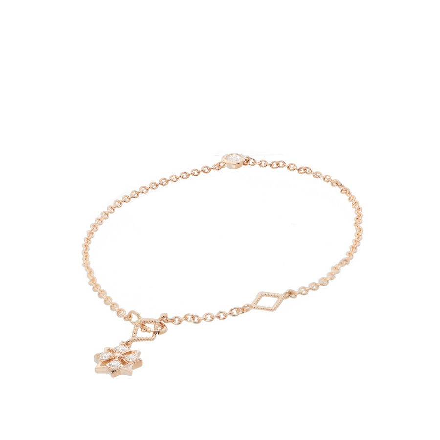 Star Solitaire Bracelet (9K Gold) - Carrie K.