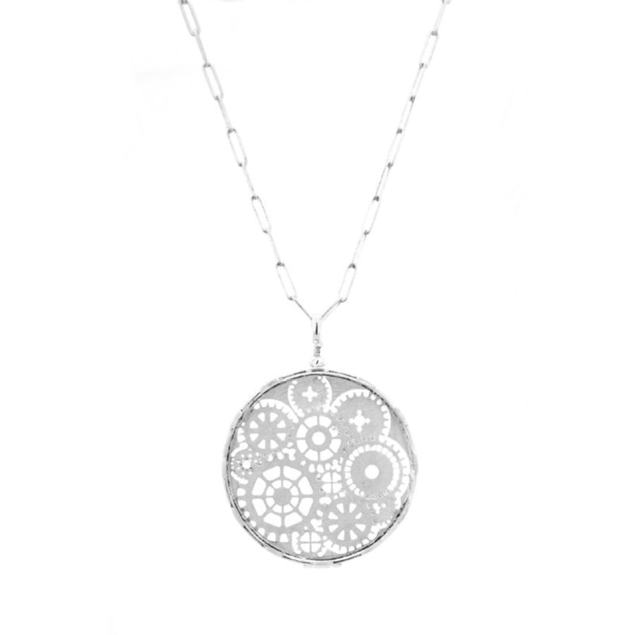 Time Pocket Watch Necklace - Carrie K.