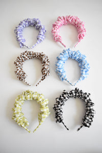 Gingham Headband - Various Colours