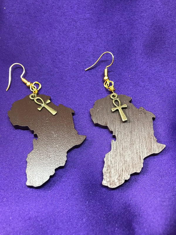 African Boho Earrings | The Continent Clothing