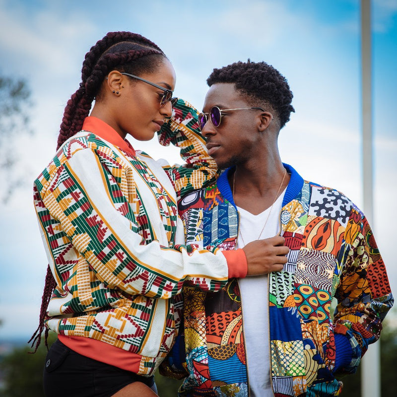 African Bomber Jackets - Festival Jackets | The Continent Clothing