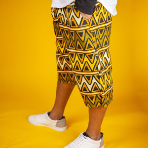 African Print Shorts | The Continent Clothing