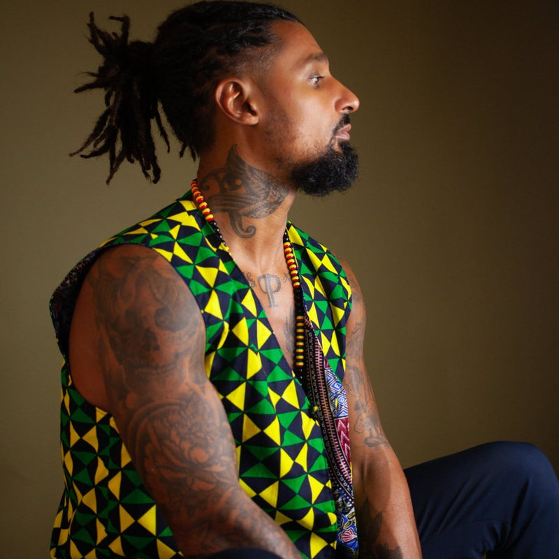 African Print Waistcoats | The Continent Clothing
