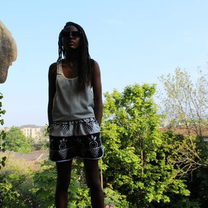 Ankara Shorts | The Continent Clothing
