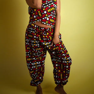 African Clothing / Women's African Pants, African Trousers