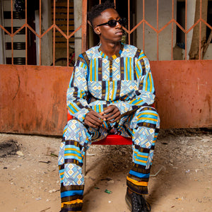 Men's African Suits Handmade In The Gambia