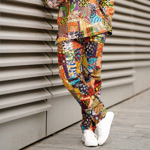 Mens African Trousers | The Continent Clothing