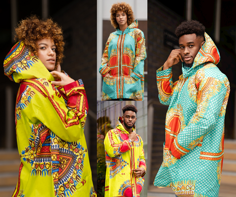 Dashiki Jackets / Continent Clothing