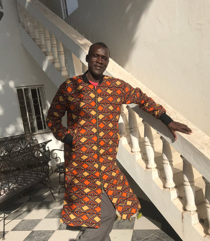 Mamadou, our patchwork maker
