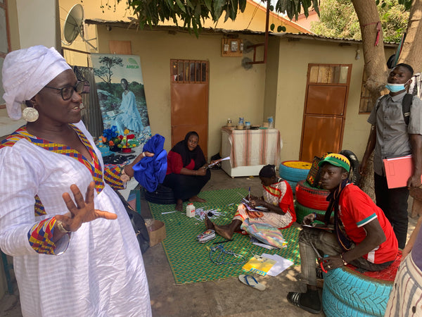 Isatou and the Women's Initiative