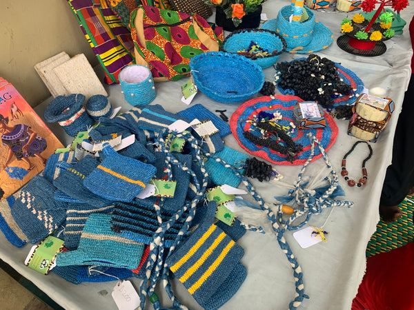 Some of the Women's initiative's recycled products