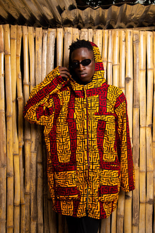 African Summer Parka Made In Africa / African Clothing