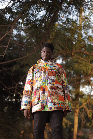 African Clothing / Patchwork Jacket