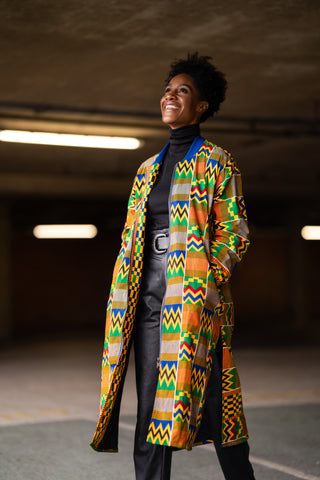 African Clothing / Festival Coat, African Trench Coat Made In Africa