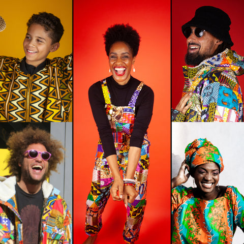 African Clothing - Smile All Round