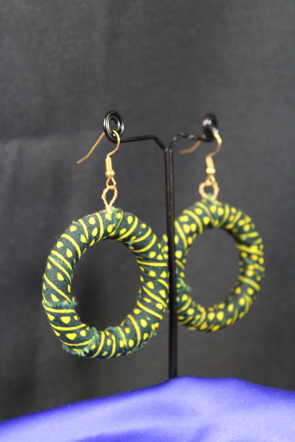 Gorgeous Green African Hoops - Continent Clothing