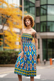 African Dress in Amazing Kente - Continent Clothing