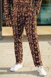 African Pants In Amazing Mud Cloth - Continent Clothing