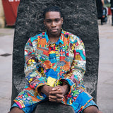 African Patchwork Shirt - Eco Friendly Shirt - Ethical Clothing - The Continent Clothing