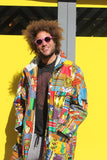 African Woolen Parka in Patchwork - African Winter Coat - Continent Clothing