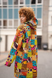 Patchwork Hooded Jacket - The Continent Clothing