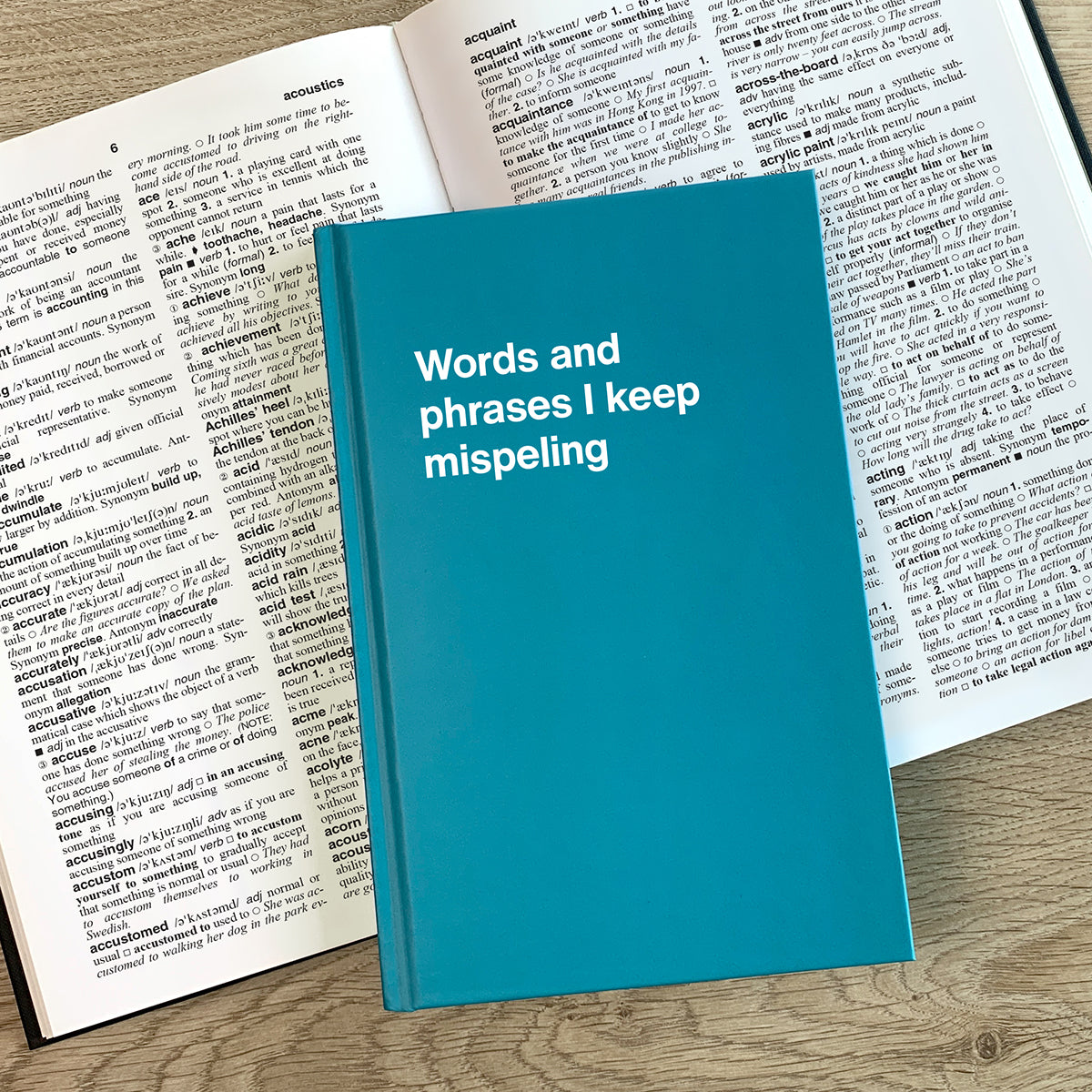 Words and phrases I keep mispeling
