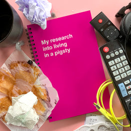 Inappropriate Mother's Day gifts from WTF Notebooks