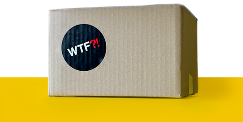 Bundle Discount: 20% off, box of 50 WTF Notebooks