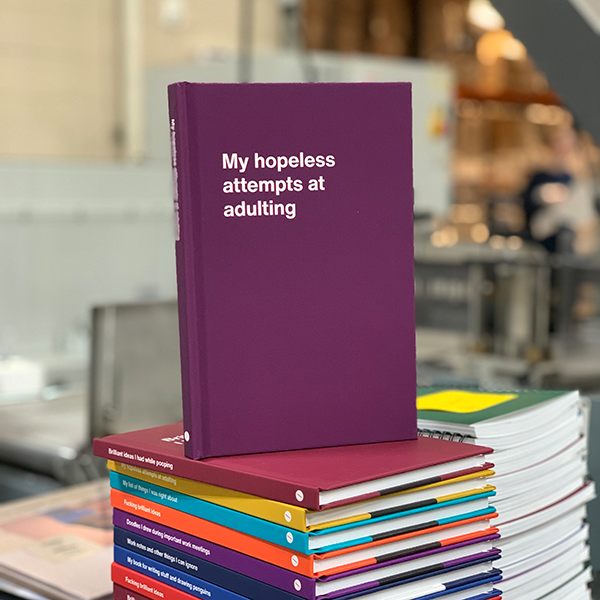WTF Notebooks USA production: My hopeless attempts at adulting