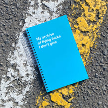 WTF Notebooks: Ruuude!   Inappropriate gifts & notebooks USA