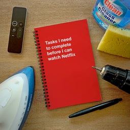 Funny gift idea for Christmas: WTF Notebooks