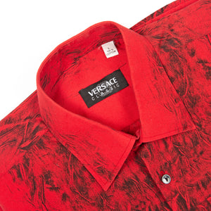 Versace Blouse Red/Black - Amsterdam Vintage Clothing
