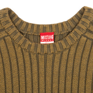 Mustang Sweater Army Green