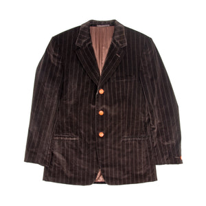 80's Versace Blazer Brown