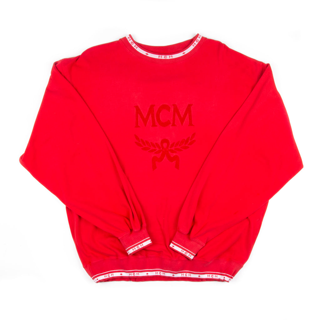 MCM Sweater Bootleg Red