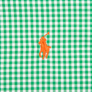 Ralph Lauren Shirt Green/Orange Checkered