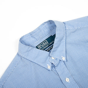 Ralph Lauren Shirt Light Blue/Pink Checkered